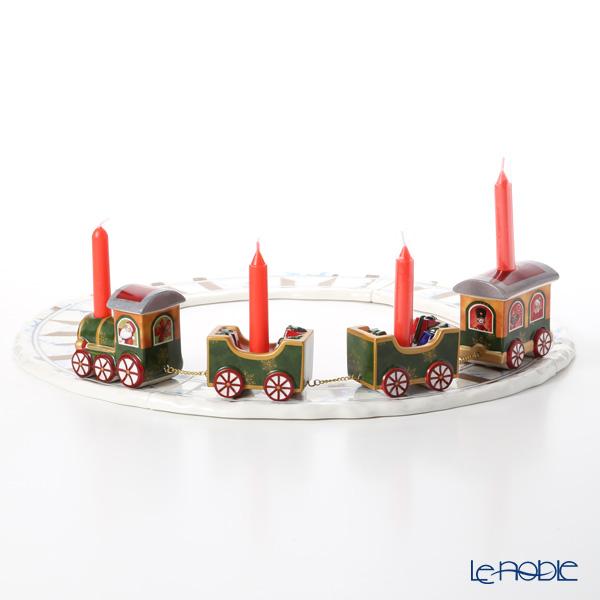 ビレロイ&ボッホ(Villeroy&Boch) ノースポールエクスプレス キシャアンドレール 6536 キャンドルホルダー クリスマス