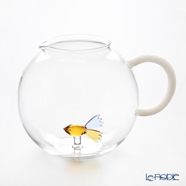 イッケンドルフ アニマルファーム ジャグ フィッシュ カラー 2L(満水容量) 耐熱性ガラス 食器 ブランド 結婚祝い 内祝い