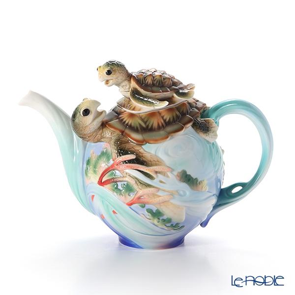 フランツ・コレクション FZ01859 ウミガメ ティーポット 食器 ブランド 結婚祝い 内祝い