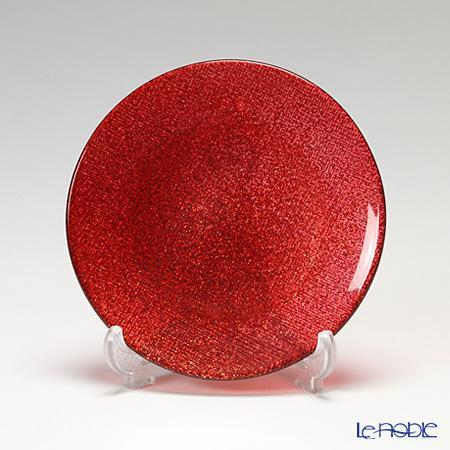 ガラス プレート おしゃれ グリッター 信用 皿 お皿 食器 迅速な対応で商品をお届け致します ブランド 結婚祝い 内祝い Vetro Felice ヴェトロ フェリーチェ 323914B 16 テーブルコーディネート 4 おもてなし 14cm G003 キラキラ ガラス皿 赤 プレゼント お祝い 小皿 きらきら レッド 記念日