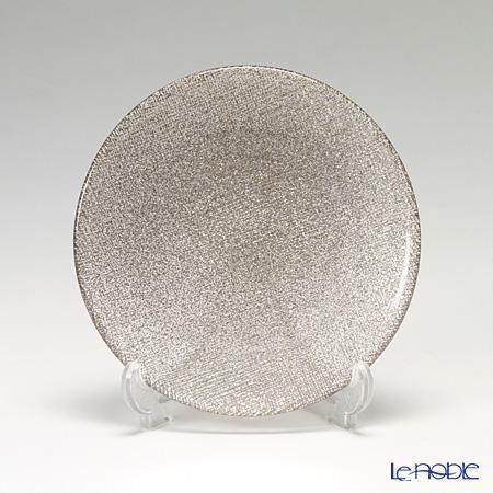 ガラス プレート おしゃれ グリッター 皿 お皿 食器 ブランド 結婚祝い 人気ブランド 内祝い Vetro Felice ヴェトロ フェリーチェ 323914B 14cm 記念日 ジンジャー 4 16 きらきら バーゲンセール ガラス皿 G006 テーブルコーディネート お祝い キラキラ おもてなし 小皿 プレゼント