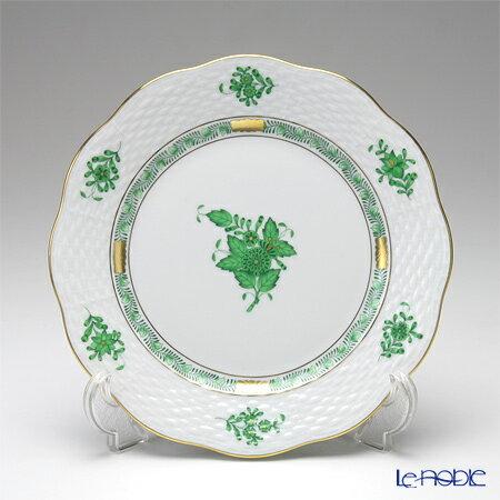 アポニー プレート 皿 お皿 食器 ブランド 日本 結婚祝い 00517-0-00 内祝い 格安 ヘレンド HEREND 19cm アポニーグリーン 517