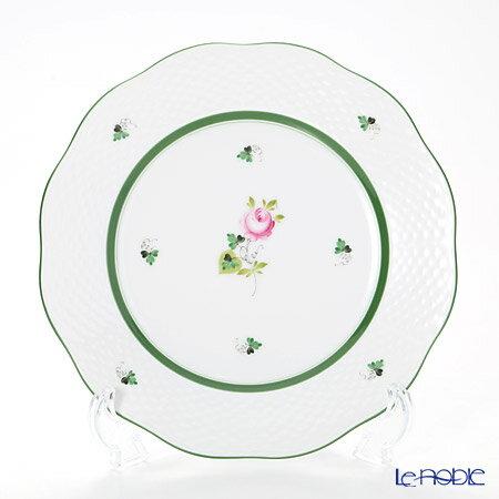 ヘレンド(HEREND) ウィーンのバラ 00519-0-00/519 プレート 21cm VRH 皿 お皿 食器 ブランド 結婚祝い 内祝い