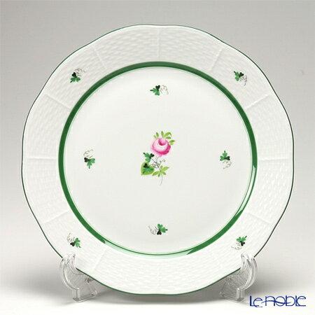 ヘレンド(HEREND) ウィーンのバラ 00524-0-00/524 プレート 25cm【楽ギフ_包装選択】【楽ギフ_名入れ】 ウィーンのバラ(VRH) 皿 引き出物 結婚祝い 食器