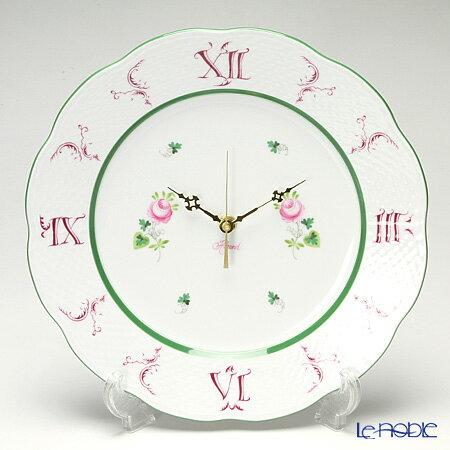 ヘレンド(HEREND) ウィーンのバラ 00527-0-47 ウォールクロック 28cm VRH 時計 壁掛け 壁掛け時計 おしゃれ