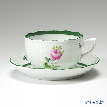 ヘレンド(HEREND) ウィーンのバラ 00724-0-00/724 ティーカップ&ソーサー 200cc VRH おしゃれ かわいい 食器 ブランド 結婚祝い 内祝い