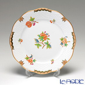 ヘレンド(HEREND) ヴィクトリア・アニバーサリー AVBO 00517-0-00 プレート 19cm 皿 お皿 食器 ブランド 結婚祝い 内祝い