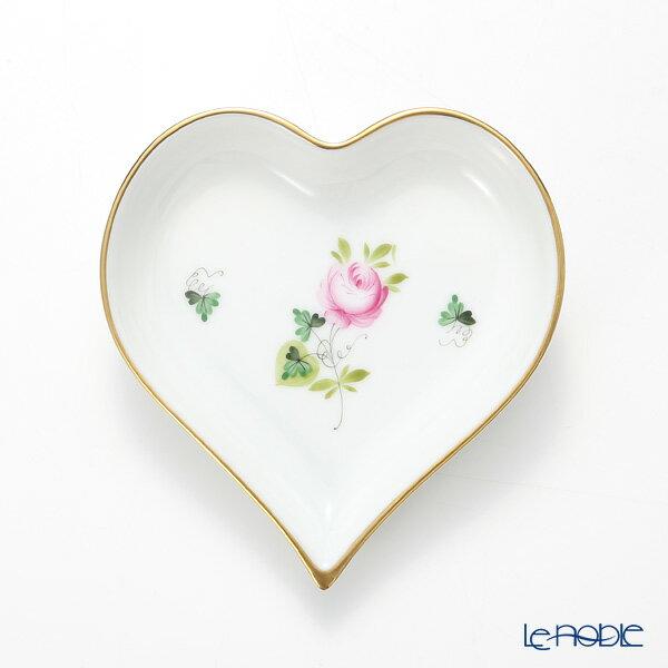 ヘレンド(HEREND) ウィーンのバラ シンプル 07703-0-00 ハートトレイ【楽ギフ_包装選択】 ウィーンのバラ シンプル(VRHS) プレート 皿 引き出物 結婚祝い 食器