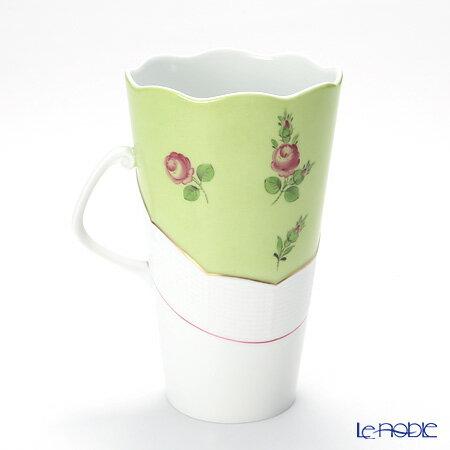 ヘレンド(HEREND) プティットローズ MX3 00904-0-00 マグカップ 620cc(グリーン)【楽ギフ_包装選択】 プティットローズ(PR) おしゃれ ブランド 引き出物 結婚祝い 食器