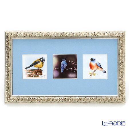 ヘレンド(HEREND) MIX3-2 08222-0-91 陶板(バード) 23×38cm【楽ギフ_包装選択】