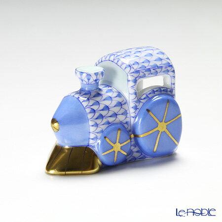 ヘレンド(HEREND) ファンタジー VHB 15081-0-00 蒸気機関車 5.5cm ブルー【楽ギフ_包装選択】 VHコレクション 置物 オブジェ インテリア