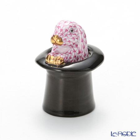ヘレンド(HEREND)人形 SVHP 15723-0-00 VHP ラビットトリック ピンク【楽ギフ_包装選択】 VHコレクション フィギュリン 置物 オブジェ インテリア
