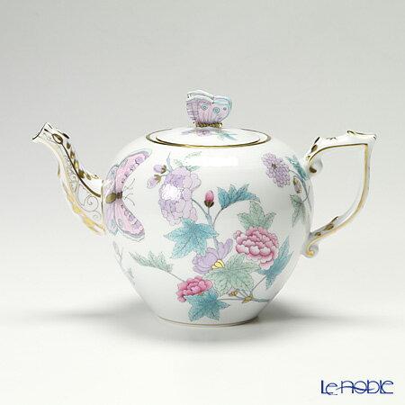 ヘレンド Herend Royal Garden Evict2 00606 0 17 Teapot Erfly Turquoise 800cc Chinoiserie Tableware Brand Wedding Present Family Celebration