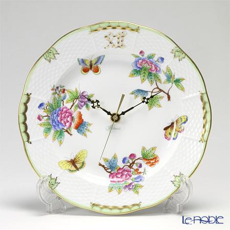ヘレンド(HEREND) ヴィクトリア・ブーケ 00507-0-47 ウォールクロック 23cm【楽ギフ_包装選択】 ヴィクトリア・ブーケ(VBO) 掛け時計 壁掛け時計