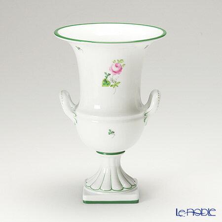 ヘレンド(HEREND) ウィーンのバラ 06431-0-00/6431 ベース 24cm【楽ギフ_包装選択】 ウィーンのバラ(VRH) 花瓶 フラワーベース おしゃれ ギフト