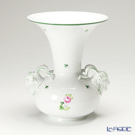 ヘレンド(HEREND) ウィーンのバラ 06657-0-41 ベース 26cm【楽ギフ_包装選択】 ウィーンのバラ(VRH) 花瓶 おしゃれ フラワーベース