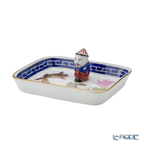 ヘレンド(HEREND) ポワッソン 07733-0-21 オブロングトレイ(マンダリン) 8cm【楽ギフ_包装選択】 ポワッソン(PO) プレート 皿 引き出物 結婚祝い 食器