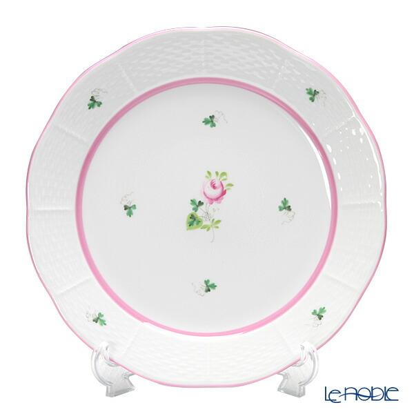 ヘレンド(HEREND) ウィーンのバラ ピンク 00524-0-00 プレート 25cm【楽ギフ_包装選択】【楽ギフ_名入れ】 皿 食器 おしゃれ ブランド
