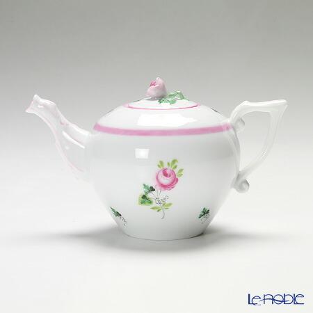 ヘレンド(HEREND) ウィーンのバラ ピンク 00608-0-09/605 ティーポット(ローズ) 400cc【楽ギフ_包装選択】 食器 おしゃれ ブランド