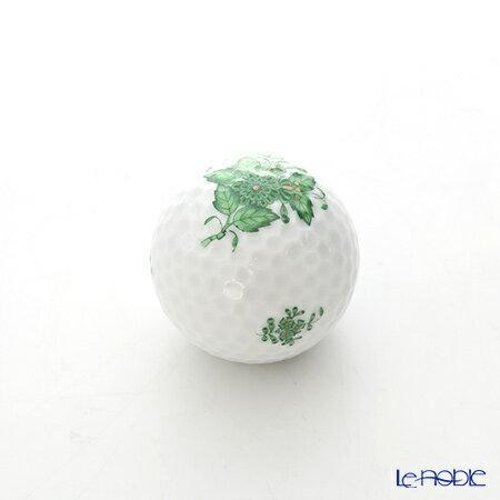 ヘレンド(HEREND) アポニーグリーン 07803-0-00 ゴルフボール型オブジェ 置物 インテリア