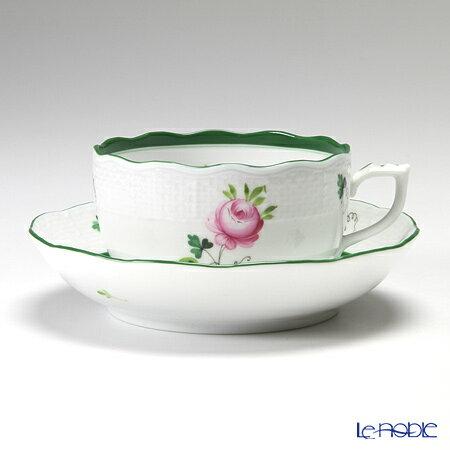 ヘレンド(HEREND) ウィーンのバラ 00704-0-00/704 ティーカップ&ソーサー 200cc VRH おしゃれ かわいい 食器 ブランド 結婚祝い 内祝い