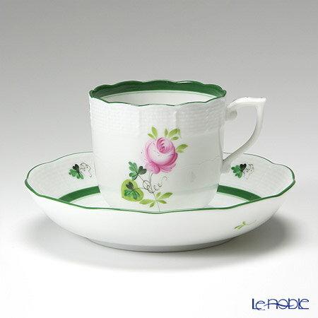 ヘレンド(HEREND) ウィーンのバラ 00707-0-00/707 モカカップ&ソーサー 150cc【楽ギフ_包装選択】【楽ギフ_名入れ】 ウィーンのバラ(VRH) 食器 おしゃれ ブランド