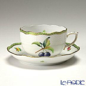 ヘレンド(HEREND) フルーツエスキース EDF-2(プルーン) 00724-0-00/724 ティーカップ&ソーサー 200cc おしゃれ かわいい 食器 ブランド 結婚祝い 内祝い