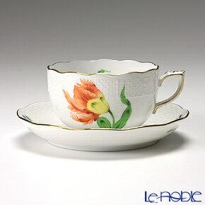 キティ KY ティーカップ おしゃれ かわいい 食器 ブランド 結婚祝い 内祝い ヘレンド(HEREND) キティ KY-1(オレンジ) 00724-0-00/724 ティーカップ&ソーサー 200cc おしゃれ かわいい 食器 ブランド 結婚祝い 内祝い