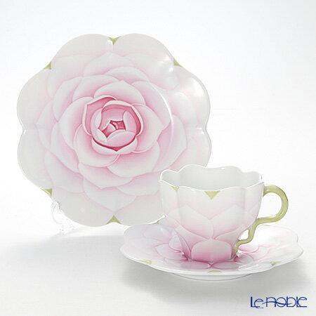 ヘレンド(HEREND) CAME1 トリオセット(ピンク) ティーカップ おしゃれ かわいい 食器 ブランド 結婚祝い 内祝い