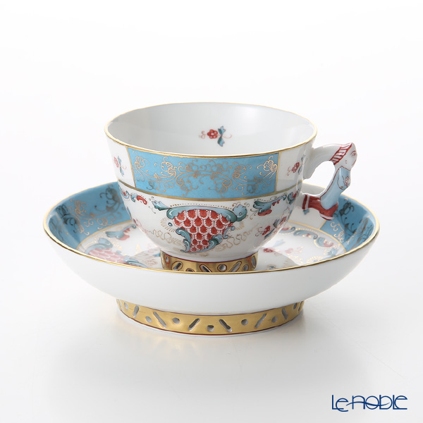 Bugle Horn Tca 03371 0 21 Small Cup Saucer Teacup Coffee And Present Wedding Tableware Of ヘレンド Herend トゥッピーニ