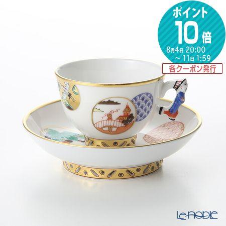 ヘレンド(HEREND) 昔話 CON 03371-021 スモールカップ&ソーサー コーヒ―カップ おしゃれ かわいい 食器 ブランド 結婚祝い 内祝い