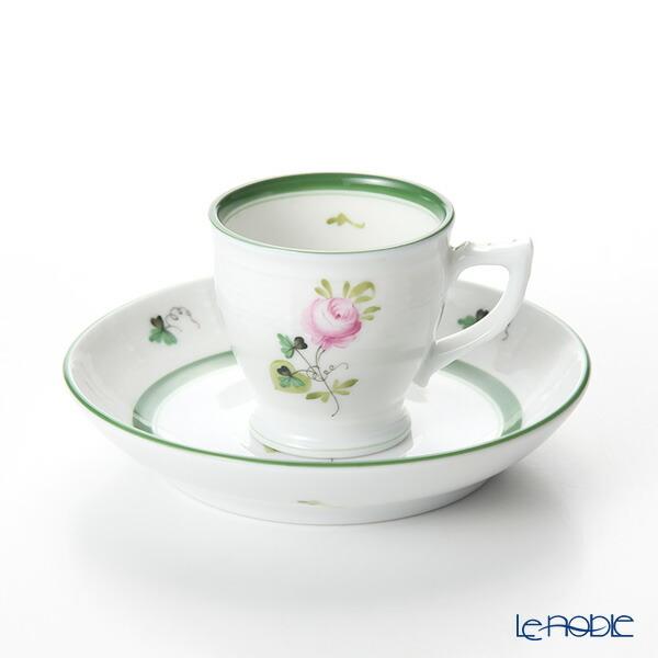 ヘレンド(HEREND) ウィーンのバラ 00729-0-00 モカカップ&ソーサー 50cc VRH 食器 ブランド 結婚祝い 内祝い
