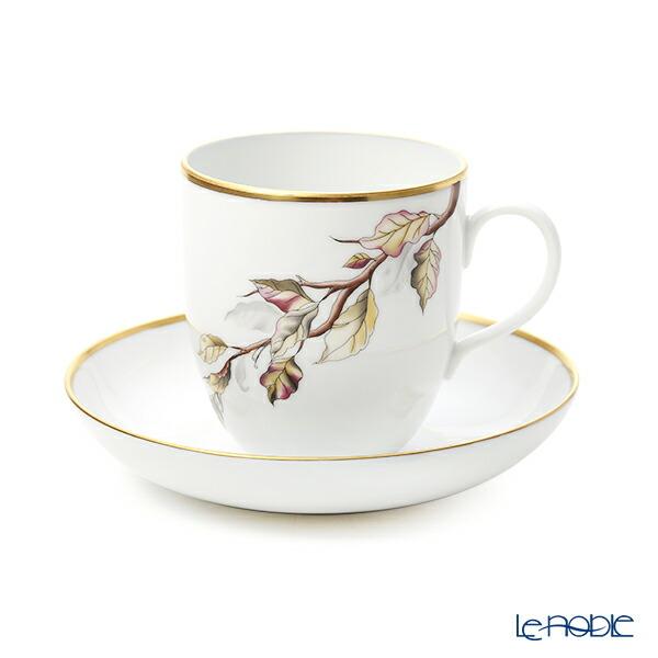 ヘレンド(HEREND) 4 Seasons オータム QUSA3 02725-0-00 コーヒーカップ&ソーサー 320ml マグカップ おしゃれ かわいい 食器 ブランド 結婚祝い 内祝い