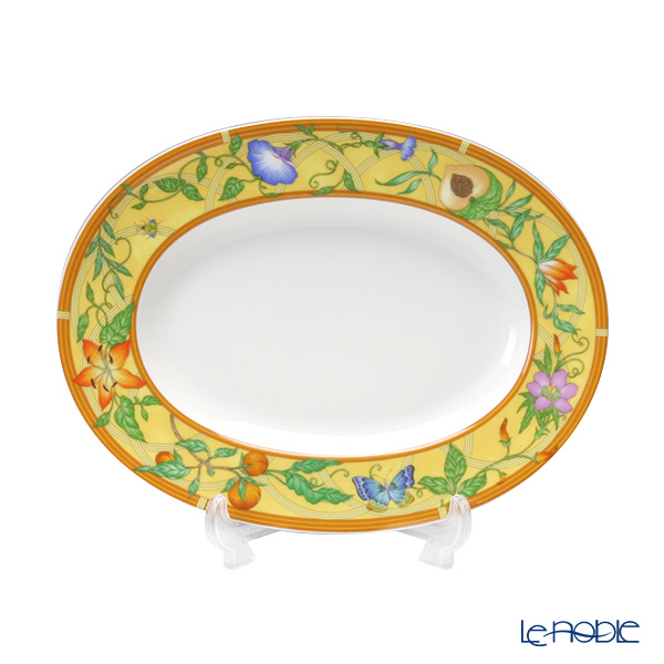 Hermes (HERMES) シエスタピックルディッシュ21 5cm plate plate dish tableware brand  wedding present family celebration