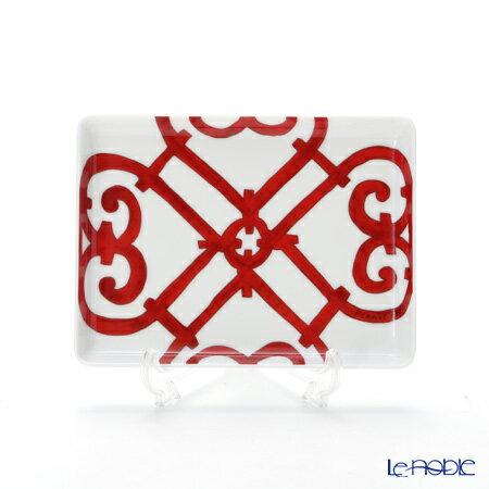エルメス (HERMES) ガダルキヴィール 長方形皿 16×12cm プレート お皿 食器 ブランド 結婚祝い 内祝い