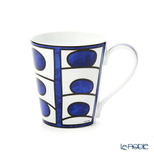 エルメス (HERMES) ブルー ダイユール マグ 240ml No.1【楽ギフ_包装選択】 ブルー ダイユール(青と白の物語) 新生活 バレンタイン マグカップ 食器 おしゃれ ブランド