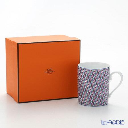 エルメス (HERMES) タイ・セット マグ 300ml アズュール マグカップ おしゃれ かわいい 食器 ブランド 結婚祝い 内祝い