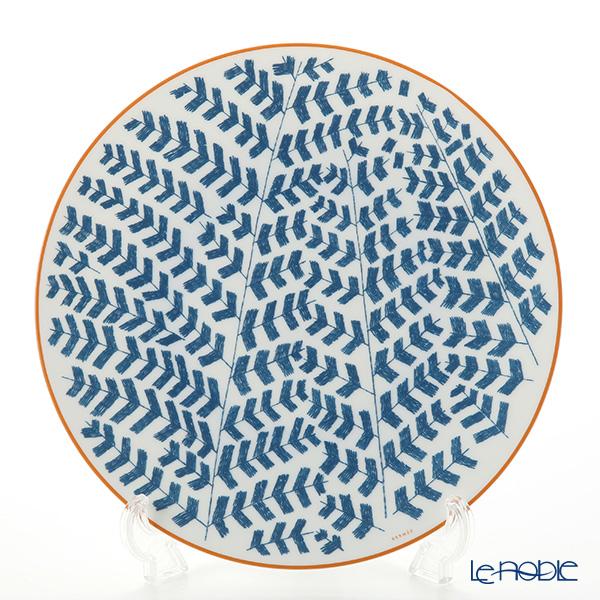 エルメス (HERMES) ウォーク・イン・ザ・ガーデン ディナープレート 27cm ブルー【楽ギフ_包装選択】 皿 食器 おしゃれ ブランド