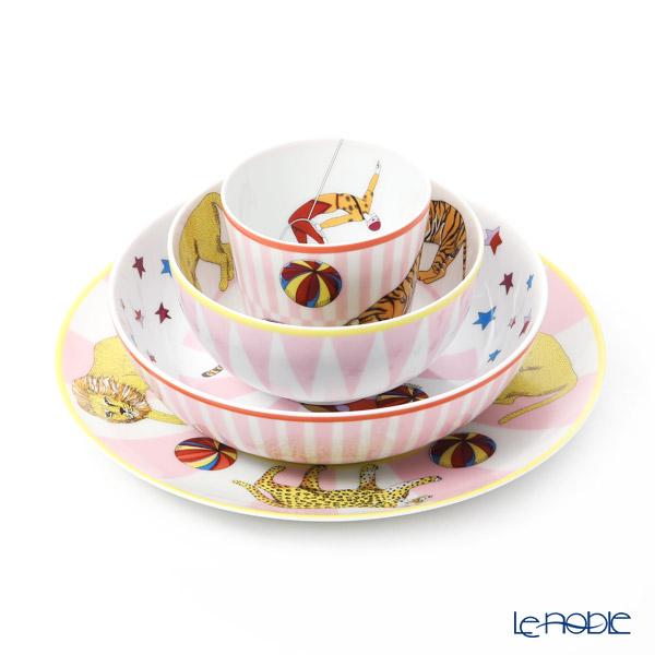 エルメス (HERMES) サーカス NEW ピンク 4点セット 食器セット お祝い 結婚祝い ブランド 内祝い