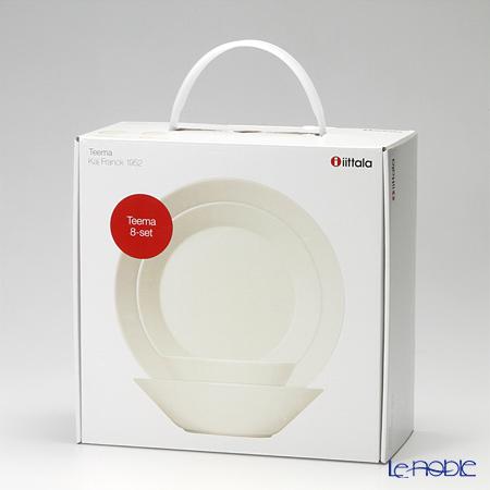 le noble rakuten global market iittala iittala teema white two for plate bowl starter 8. Black Bedroom Furniture Sets. Home Design Ideas