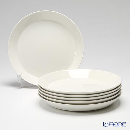 イッタラ (iittala) ティーマ ホワイト プレート 26cm 6枚セット 食器 北欧 皿 ブランド 結婚祝い 内祝い