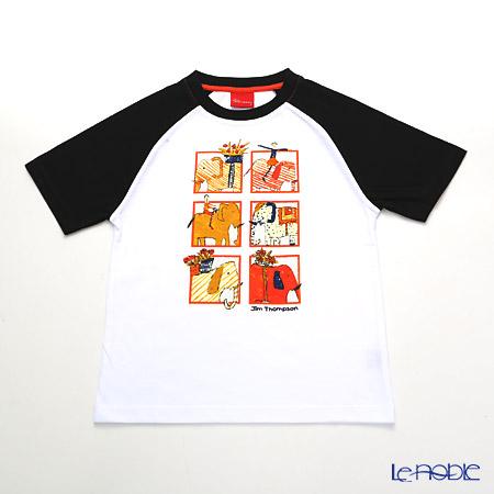 ジムトンプソン 子供服 Tシャツ S(4-7歳) ゾウサファリ ジム・トンプソン ギフト