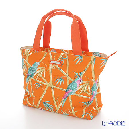 Jim Thompson Fiji Tote Bag Pcb4327d Bird Bamboo Orange