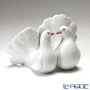 リヤドロ つがいの鳩 01169 リアドロ LLADRO 記念品 置物 オブジェ 人形 フィギュリン インテリア