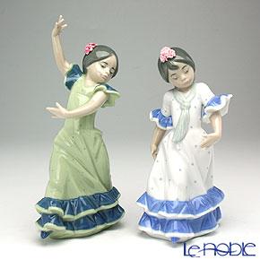 リヤドロ 春祭りの少女たち 07807【楽ギフ_包装選択】 リアドロ 記念品 ギフト フィギュリン 置物 オブジェ インテリア