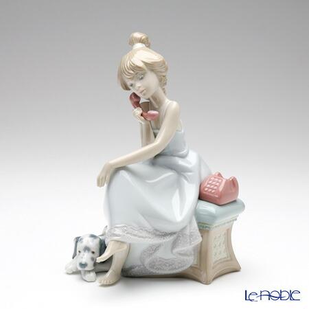 リヤドロ 大事な電話 05466 リアドロ LLADRO 記念品 少女 置物 オブジェ フィギュリン インテリア