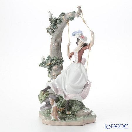リヤドロ 夢にゆられて 09163 リアドロ LLADRO 記念品 乙女・女性 置物 オブジェ 人形 フィギュリン インテリア