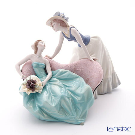 リヤドロ 楽しんでる? 09222 リアドロ LLADRO 記念品 乙女・女性 置物 オブジェ 人形 フィギュリン インテリア
