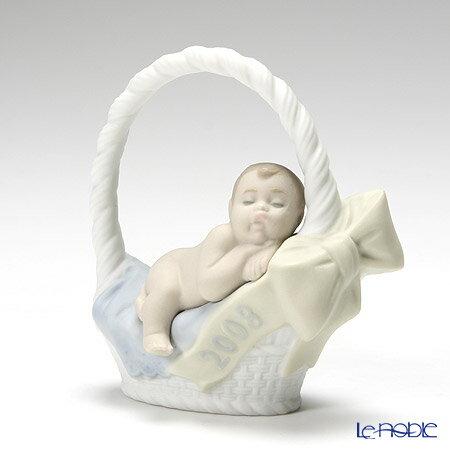 リヤドロ お誕生日おめでとう 2008 男の子 18334【楽ギフ_包装選択】 リアドロ 記念品 ギフト 母・赤ちゃん・家族 フィギュリン 置物 オブジェ インテリア