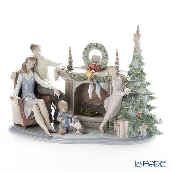 リヤドロ 家族のクリスマス LE750 08260(37x51cm) 世界限定生産750点【楽ギフ_包装選択】 リアドロ 記念品 ギフト 新生活 フィギュリン 置物 オブジェ インテリア